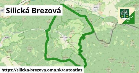 ikona Mapa autoatlas  silicka-brezova