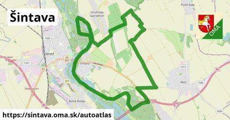 ikona Mapa autoatlas  sintava
