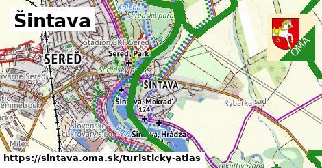 ikona Turistická mapa turisticky-atlas  sintava
