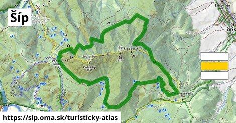 ikona Turistická mapa turisticky-atlas  sip
