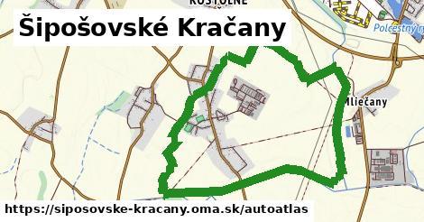 ikona Mapa autoatlas  siposovske-kracany