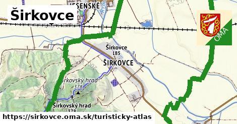 ikona Turistická mapa turisticky-atlas  sirkovce