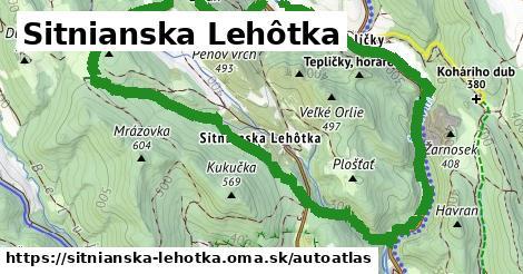 ikona Mapa autoatlas  sitnianska-lehotka