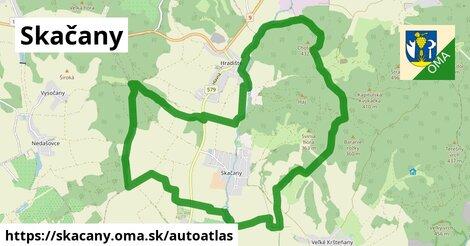 ikona Mapa autoatlas  skacany