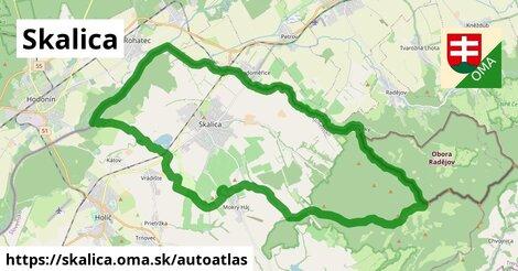 ikona Mapa autoatlas  skalica
