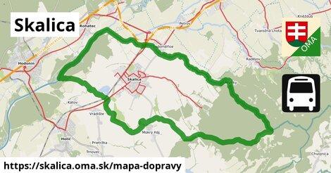 ikona Mapa dopravy mapa-dopravy  skalica