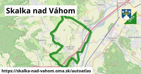 ikona Mapa autoatlas  skalka-nad-vahom