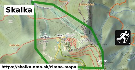 ikona Zimná mapa zimna-mapa  skalka