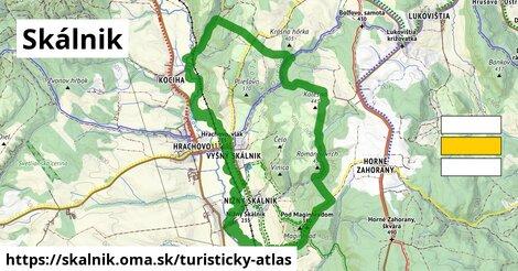 ikona Turistická mapa turisticky-atlas  skalnik
