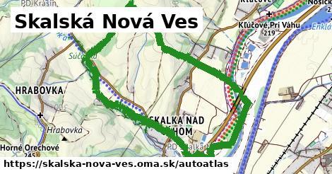 ikona Mapa autoatlas  skalska-nova-ves