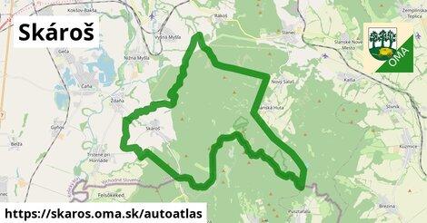 ikona Mapa autoatlas  skaros