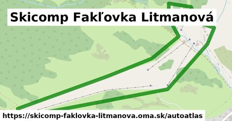 ikona Mapa autoatlas  skicomp-faklovka-litmanova