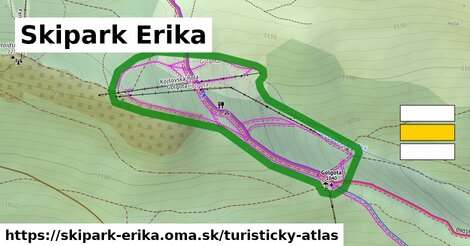 ikona Turistická mapa turisticky-atlas  skipark-erika