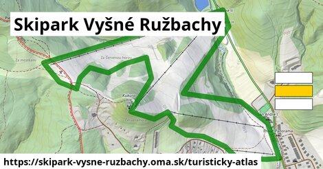 ikona Turistická mapa turisticky-atlas  skipark-vysne-ruzbachy