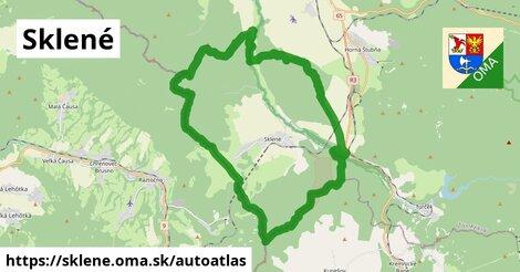 ikona Mapa autoatlas  sklene