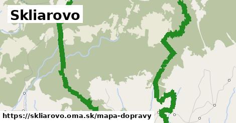ikona Skliarovo: 0m trás mapa-dopravy v skliarovo
