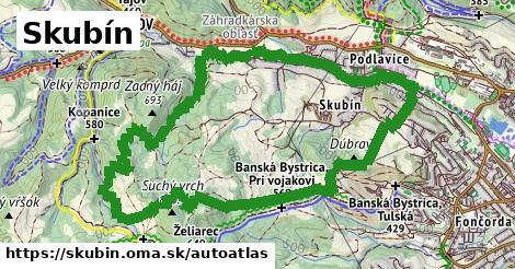 ikona Mapa autoatlas  skubin