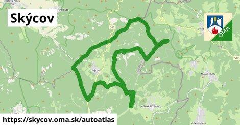 ikona Mapa autoatlas  skycov