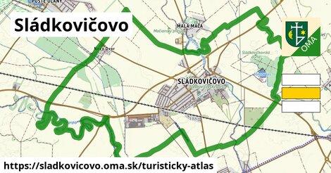 ikona Turistická mapa turisticky-atlas  sladkovicovo