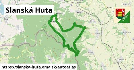 ikona Mapa autoatlas  slanska-huta