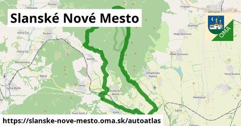 ikona Mapa autoatlas  slanske-nove-mesto