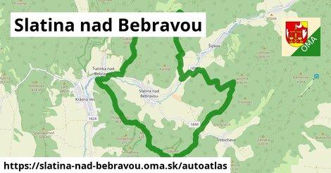 ikona Mapa autoatlas  slatina-nad-bebravou