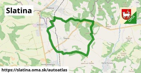 ikona Mapa autoatlas  slatina