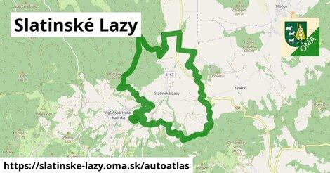 ikona Mapa autoatlas  slatinske-lazy