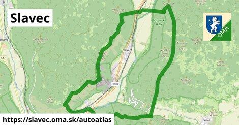 ikona Mapa autoatlas  slavec