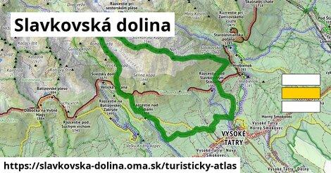ikona Turistická mapa turisticky-atlas  slavkovska-dolina