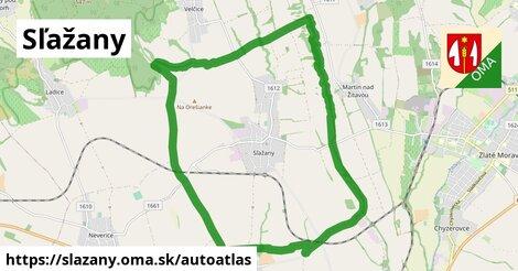 ikona Mapa autoatlas  slazany