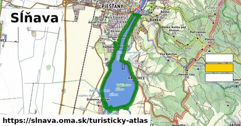 ikona Turistická mapa turisticky-atlas  slnava