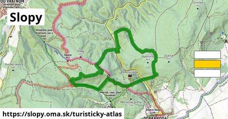 ikona Turistická mapa turisticky-atlas  slopy