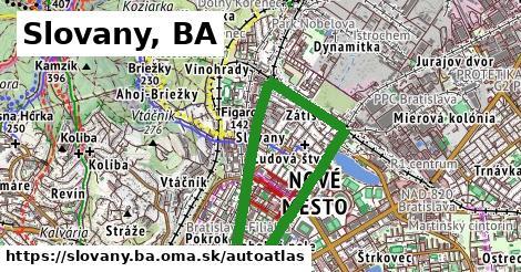 ikona Mapa autoatlas  slovany.ba