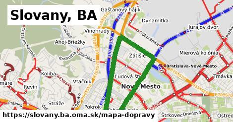 ikona Mapa dopravy mapa-dopravy v slovany.ba