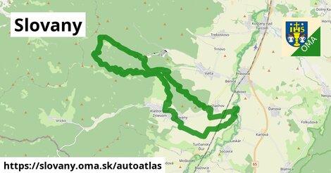 ikona Mapa autoatlas  slovany