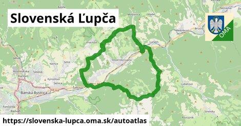 ikona Mapa autoatlas  slovenska-lupca
