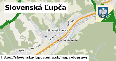 ikona Mapa dopravy mapa-dopravy v slovenska-lupca