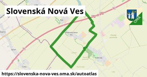 ikona Mapa autoatlas  slovenska-nova-ves