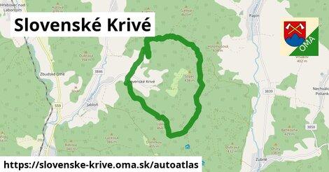 ikona Mapa autoatlas  slovenske-krive