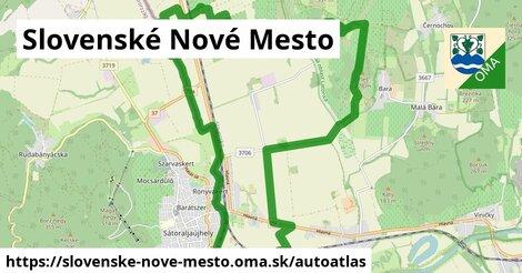 ikona Mapa autoatlas  slovenske-nove-mesto