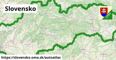 ikona Mapa autoatlas  slovensko