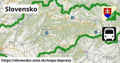 ikona Mapa dopravy mapa-dopravy  slovensko