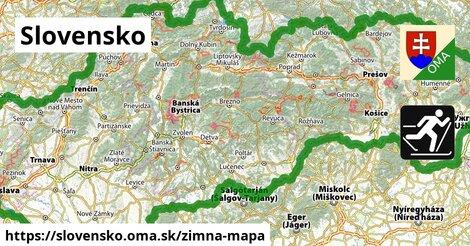 ikona Zimná mapa zimna-mapa  slovensko