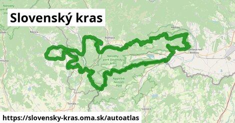ikona Mapa autoatlas  slovensky-kras