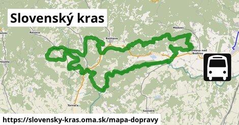 ikona Mapa dopravy mapa-dopravy  slovensky-kras