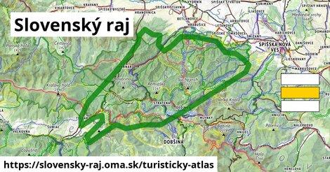 ikona Turistická mapa turisticky-atlas  slovensky-raj