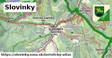 ikona Turistická mapa turisticky-atlas  slovinky