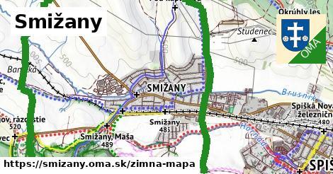 ikona Zimná mapa zimna-mapa  smizany