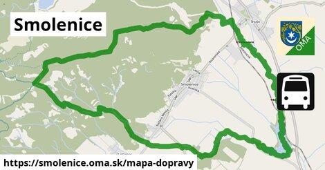 ikona Mapa dopravy mapa-dopravy  smolenice